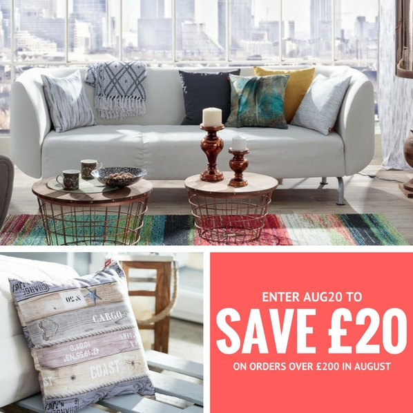The hub bank holiday offer 20 voucher on home and decor for Home decor offers