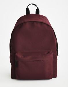 TIM burgundy rucksack