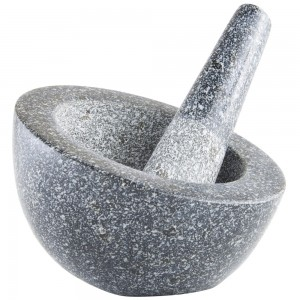 VonShef Granite Pestle & Mortar