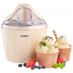 VonShef Vanilla Ice Cream Maker