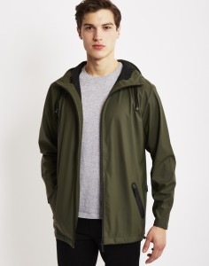 green rains jacket