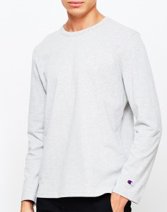 grey long sleeve tshirt