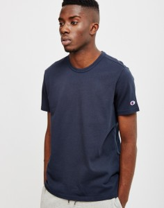 plain navy tshirt
