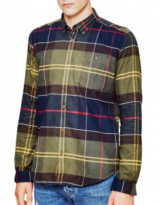 Barbour Johnny Check Shirt Tartan