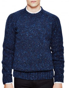 Barbour Netherby Crew Jumper Blue