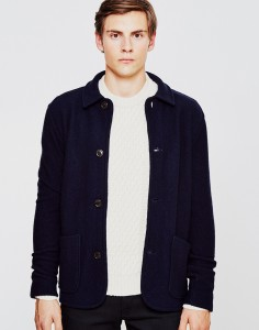 Barbour Pennan Blazer Navy