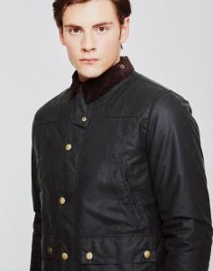 Barbour Reelin Wax Jacket Green