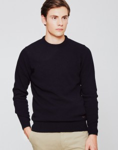 Patch Crew Jumper Navy