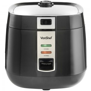 VonShef Black Rice Cooker
