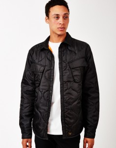 black HUF jacket