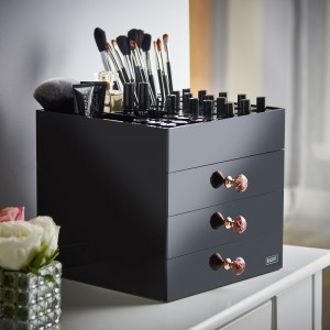 Beautify Black Gem make up storage - Copy