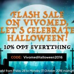 Vivomed Halloween Sale 2016
