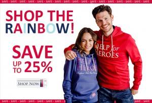 Help for Heroes Shop the rainbow
