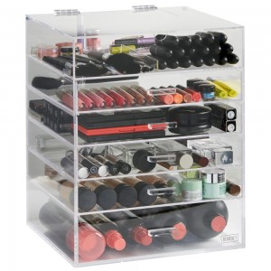 6 tier makeup storage
