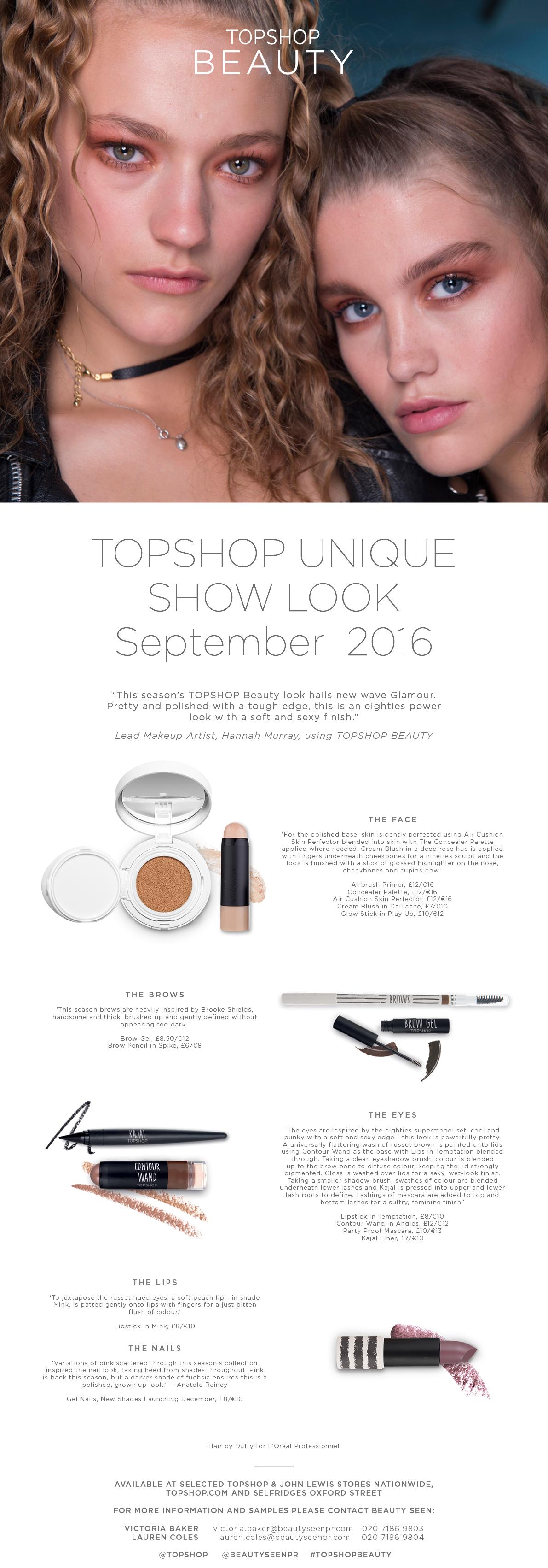 Beauty_Press Release_Unique Sept Show Look_UK Digital