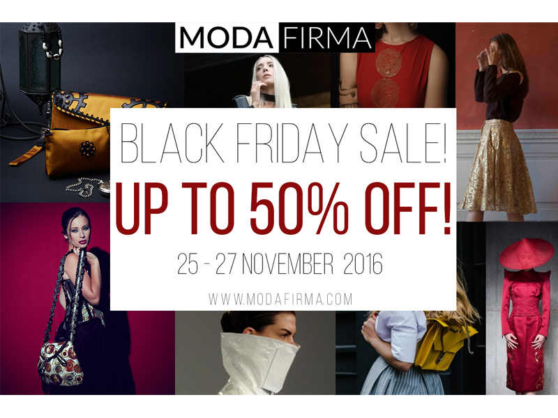 Modafirma Black Friday and Cyber Monday Price Reductions