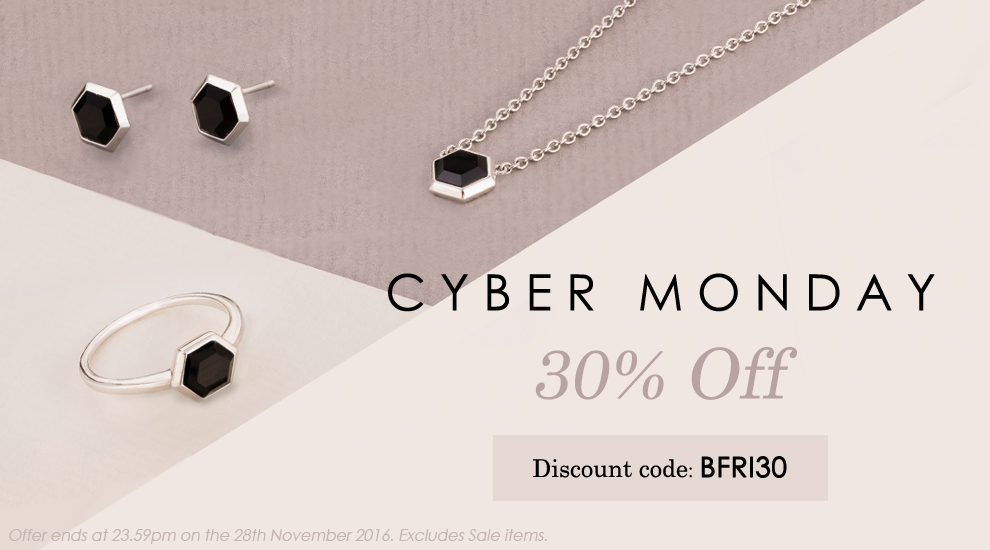 Cyber Monday at Gemondo jewellery