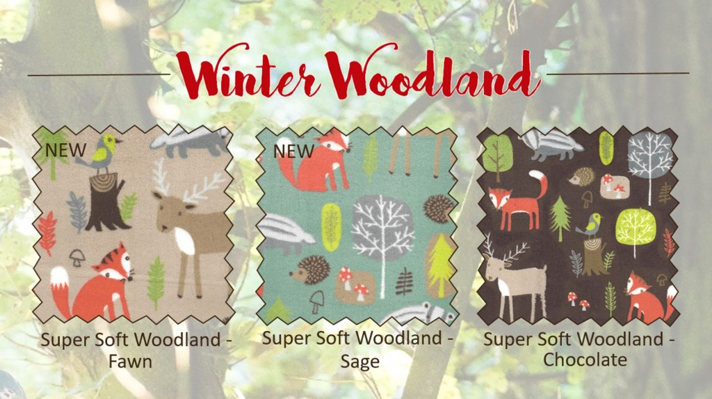 Supersoft Woodland Swatches