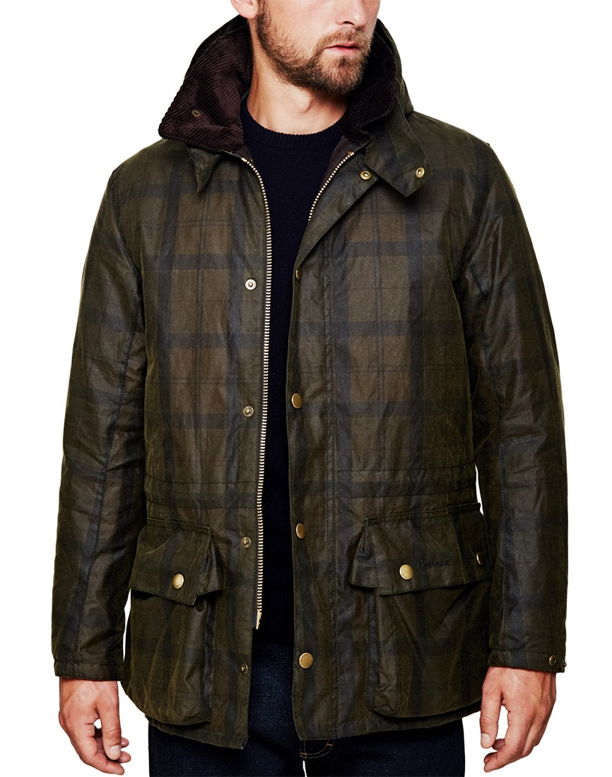 b626eaa6 Barbour Beattock Wax Down Jacket in Brown - Was £ 298 Now £238 - 20% Off