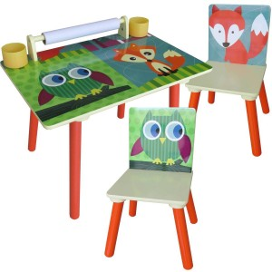 kids woodland table