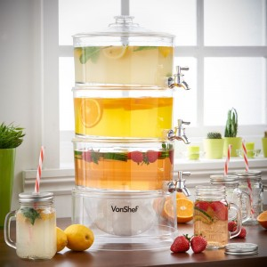 VonShef 3 Tier Drinks Dispenser