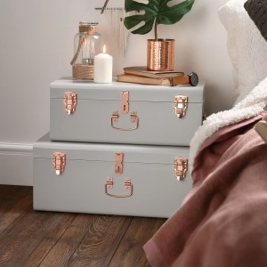 Beautify Storage Trunk grey