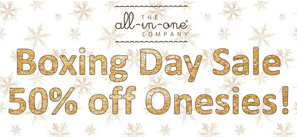 Boxing Day Onesie Sale The All-in-One Company
