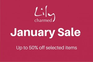 January Sale with Logo
