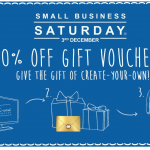 Discounted Onesie Gift Vouchers - Small Business Saturday