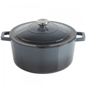VonShef Cast Iron Casserole Dish