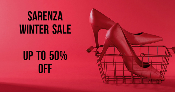 Sarenza Winter Sale Up to 50% Off