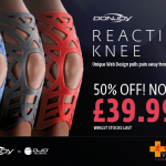 Reaction knee brace half price at www.Vivomed.com