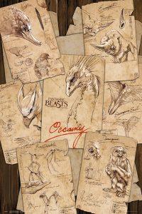 Fantastic Beasts Poster Winter Discount