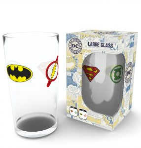 Last Chance: DC Comics Pint Glass £4.00