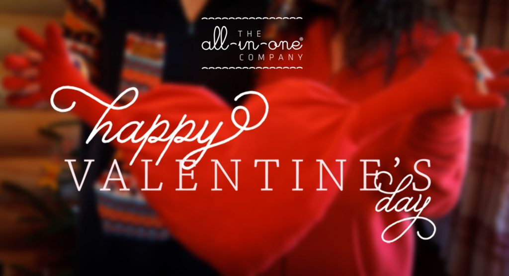 The All-in-One Company Onesie Valentines Day