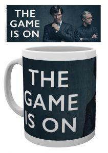 Sherlock The Game is On Mug Winter Discount