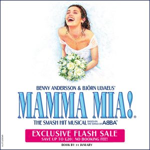 Mamma Mia Exclusive Offer