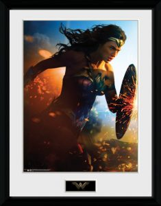 Wonder Woman Collector Print Winter Discount