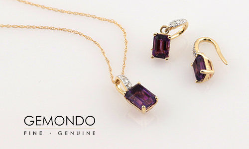 10% off amethyst jewellery at Gemondo