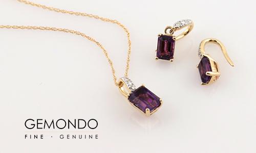10% off amethyst jewellery at Gemondo