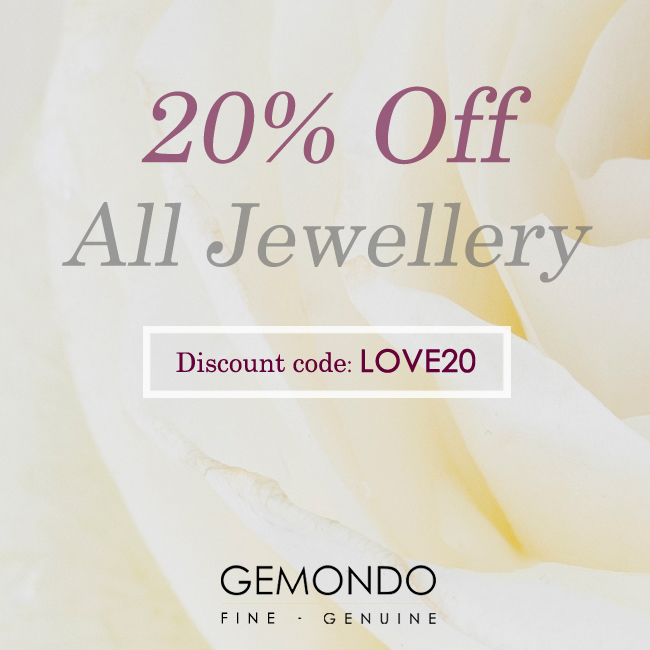 20% off all Gemondo jewellery