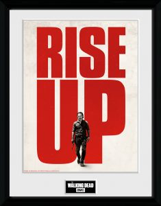The Walking Dead - RISE UP collector print