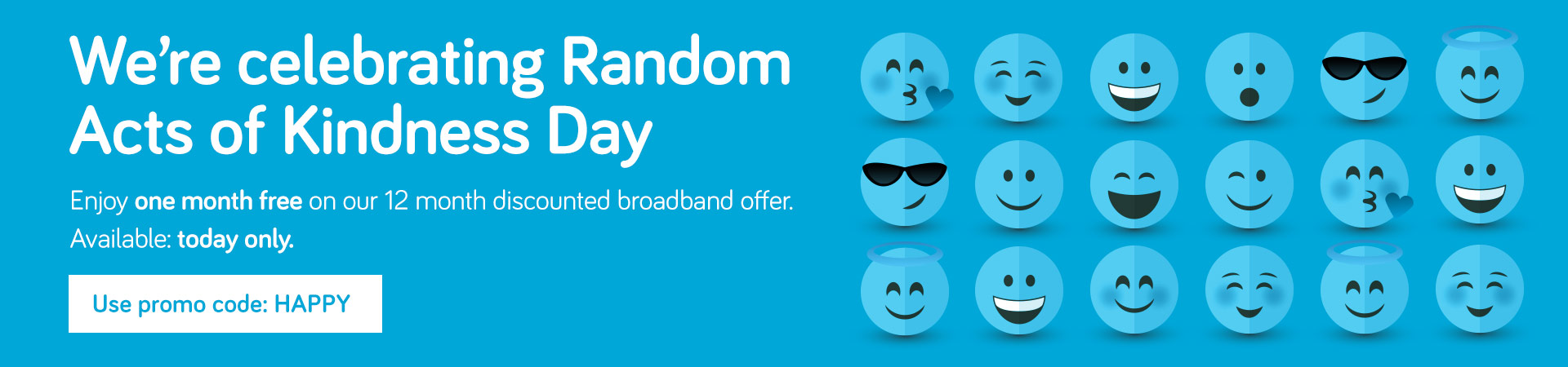 One Month Free Broadband and Phone
