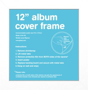 Frame Sale - White Album Frame