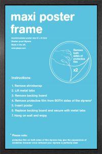 Frame sale - Maxi Poster Frame