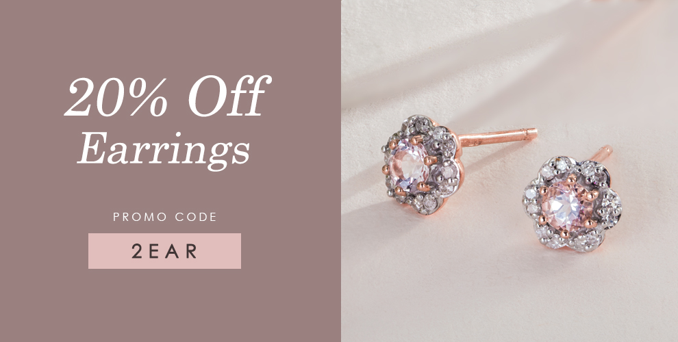 20% off earrings at Gemondo