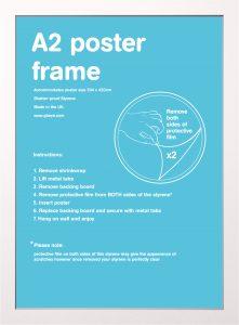 Frame bundles - A2 white