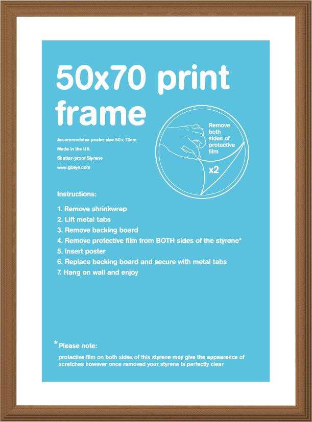 frame bundles 50 x 70cm pine