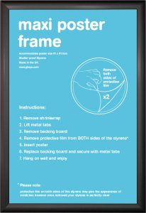 Frame bundles - Cushion Black Maxi