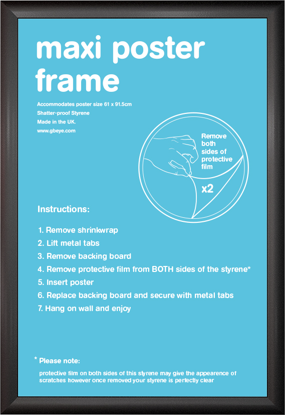 frame bundles cushion black maxi